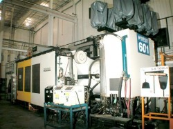 cinci used plastic injection machine