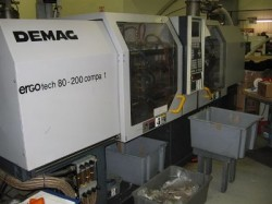 used demag plastic injection machine
