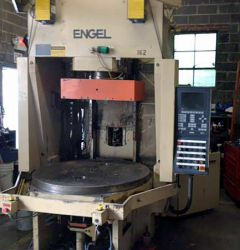 Used 200 ton Engel vertical rotary plastic molder