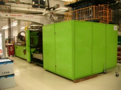 engel plastic molding machine used