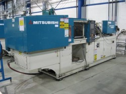 used mitsubishi injection machine
