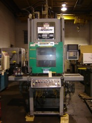 newbury vertical used plastic molding machines