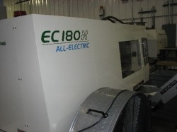 used 180 ton toshiba plastic injection machine