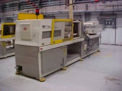 toshiba 190 ton used injection molder