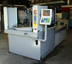 Used Toyo vertical rotary plastic molding machine for sale